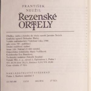 antikvární kniha Řezenské ortely : [román o knížeti Rostislavovi], 1988