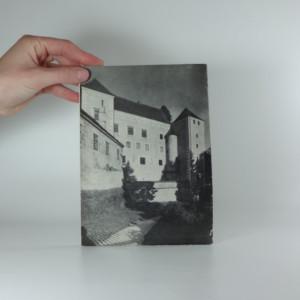 antikvární kniha Telč: státní zámek a městská památková rezervace, 1953
