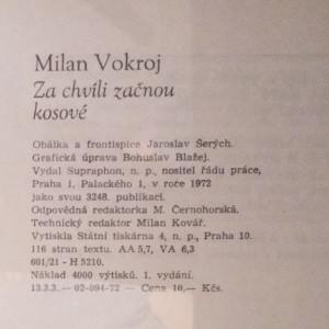 antikvární kniha Za chvíli začnou kosové : Muzikál ve dvanácti podobenstvích, 1972
