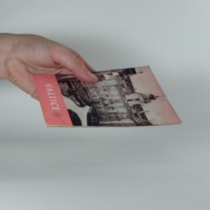 antikvární kniha Valtice, 1964