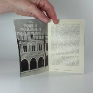 antikvární kniha Telč : státní zámek v Telči : [prop. brožůra], 1961
