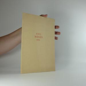 náhled knihy - Dva listy z pamětní knihy Spolku výtvarných umělců Mánes : k uctění památky 100. výročí narození Mikoláše Alše, svého zakladatele a prvního starosty