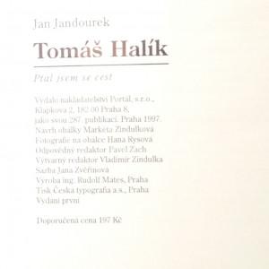 antikvární kniha Tomáš Halík : ptal jsem se cest, 1997
