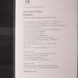 antikvární kniha Poupata : křehké i rabiátské texty z let 1938-1952, 2005