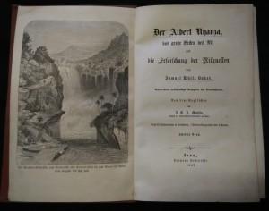 antikvární kniha Der Albert N'yanza das große Becken des Nil und die Erforschung der Nilquellen, 1867
