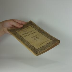 antikvární kniha Kosmické meditace : básně z roku 1923, 1923