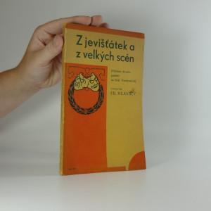 náhled knihy - Z jevišťátek a z velkých scén