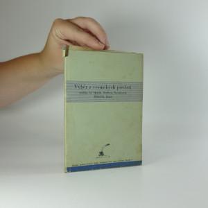 náhled knihy - Výběr z vesnických pověstí