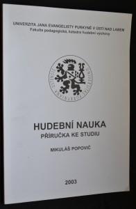 náhled knihy - Hudební nauka:příručka ke studiu