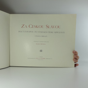 antikvární kniha Za českou slávou : pouť Evropou po stopách české minulosti : cyklus obrazů, neuveden