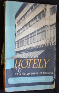 náhled knihy - Hotely v Československé republice: díl 1. Země česká a moravskoslezská