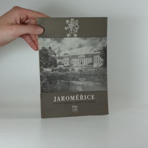 náhled knihy - Jaroměřice : státní zámek, město a okolí