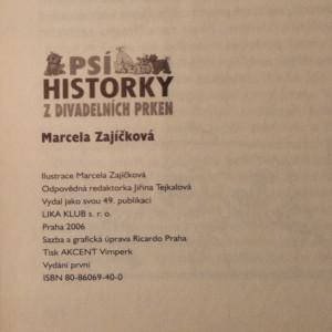 antikvární kniha Psí historky z divadelních prken, 2006