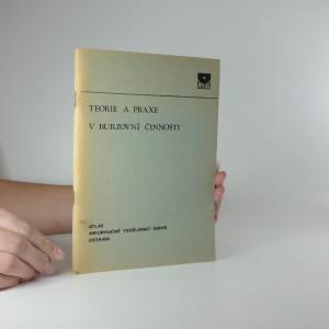 náhled knihy - Teorie a praxe v burzovní činnosti