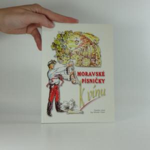 náhled knihy - Moravské písničky k vínu