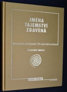 náhled knihy - Jména tajemství zbavená: Malá domácí encyklopedie 250 nejčastějších příjmení