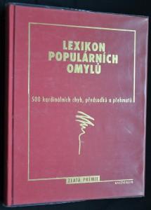 náhled knihy - Lexikon populárních omylů: 500 kardinálních chyb, předsudků a přehmatů