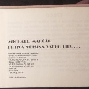 antikvární kniha Drtivá většina všeho lidu..., 1991