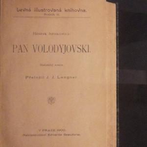 antikvární kniha Pan Volodyjovski : historický román, 1900