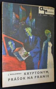náhled knihy - Dobrodružné romány Smena, č. 74 Kryptonym, prášok na pranie