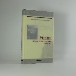 náhled knihy - Firma : krátke dejiny revolučnej myšlienky