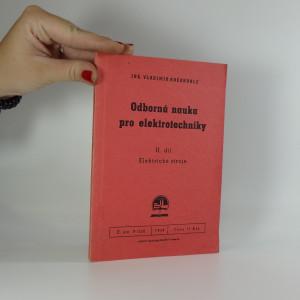náhled knihy - Odborná nauka pro elektrotechniky : Učebnice pro zákl. odb. školy. 2. díl, Elektrické stroje