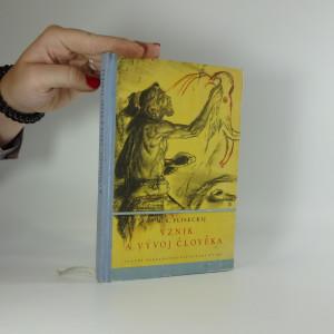 náhled knihy - Vznik a vývoj člověka