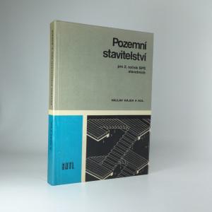 náhled knihy - Pozemní stavitelství II : pro 2. ročník SPŠ stavebních