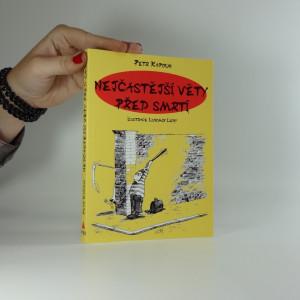 náhled knihy - Nejčastější věty před smrtí