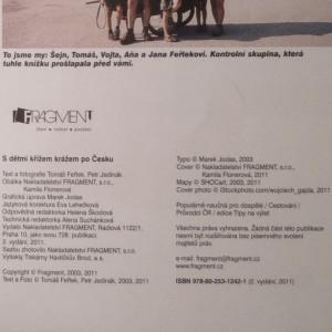 antikvární kniha S dětmi křížem krážem po Česku : 50 tipů na výlety, 2011