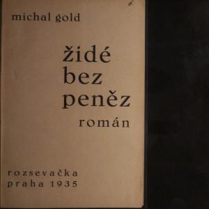 antikvární kniha Židé bez peněz, 1935
