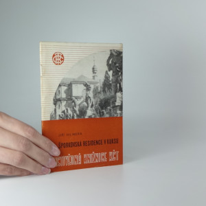 náhled knihy - Šporkovská residence v Kuksu (Vlastivědná knižnice KČT)