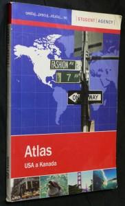 náhled knihy - Atlas USA a Kanada