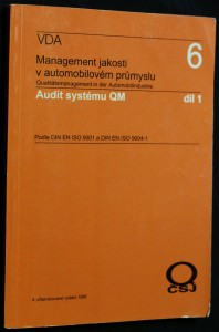 náhled knihy - Management jakosti - audit systému : podle DIN EN ISO 9001 a DIN EN ISO 9004, díl 1