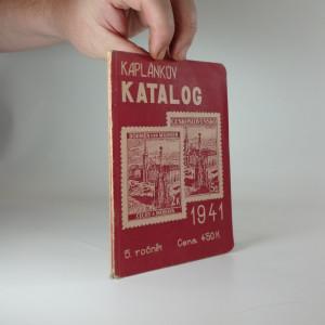 náhled knihy - Kaplánkův katalog 1941 známek československých