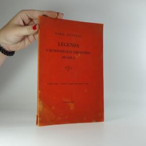 náhled knihy - Legenda o budovatelích Národního divadla