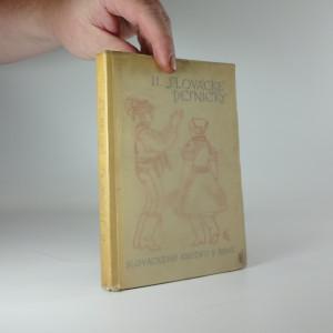 náhled knihy - Slovácké pésničky II