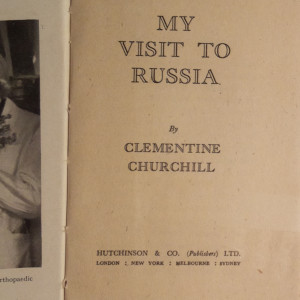 antikvární kniha My visit to Russia, 1945