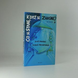 náhled knihy - Co se stane, když se zhasne? : dvě podoby české privatizace