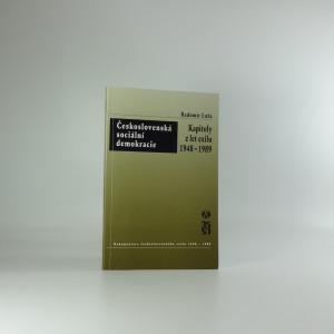 náhled knihy - Československá sociální demokracie : kapitoly z let exilu 1948-1989