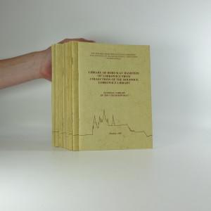 náhled knihy - XIX. kongres mezinárodní asociace bibliofilů (14  sešitů)