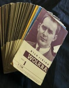 náhled knihy - Dílo Jiřího Wolkra 1.-32. díl