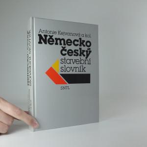 náhled knihy - Německo-český stavební slovník