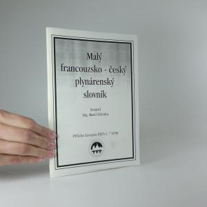 náhled knihy - Malý francouzsko - český plynárenský slovník