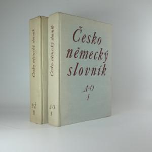 náhled knihy - Česko německý slovník A-Ž (2 svazky)