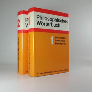 náhled knihy - Philosophisches Worterbuch (2 svazky)