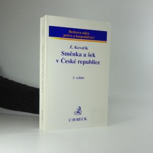 náhled knihy - Směnka a šek v České republice