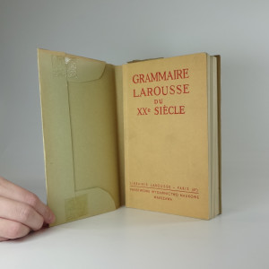 náhled knihy - Grammaire larousse du XXe siecle
