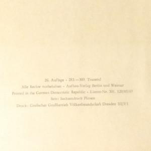 antikvární kniha Goethe. Ein Lesebuch fur unsere Zeit, 1969