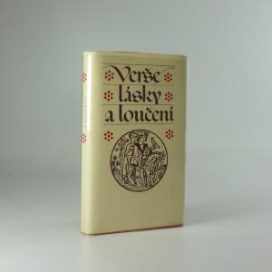 náhled knihy - Verše lásky a loučení : katalánská milostná poezie 14. a 15. století